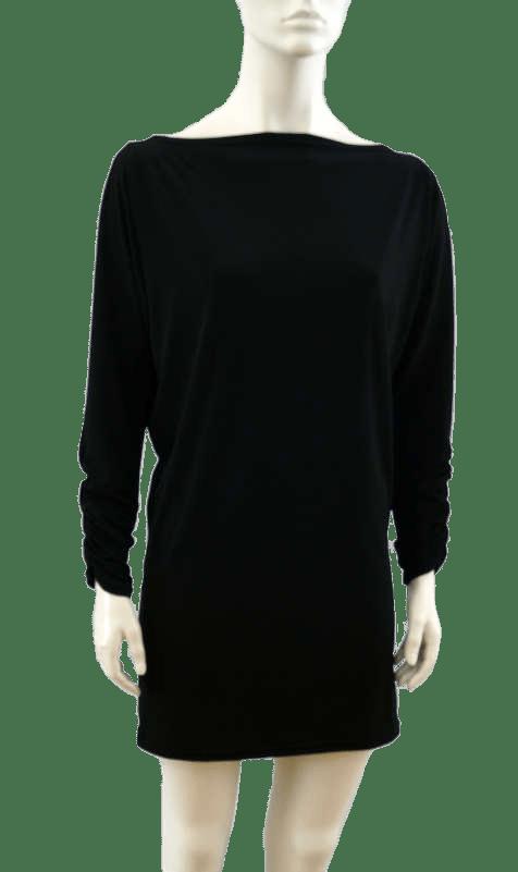 Vestita tunique robe noire tunic dress black
